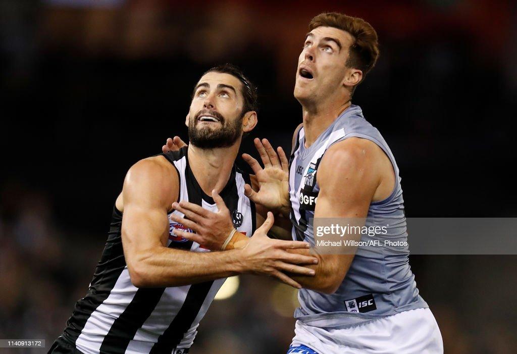AFL Rd 7 - Collingwood v Port Adelaide : News Photo