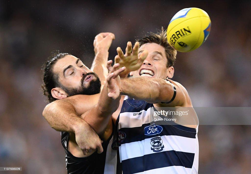 AFL Rd 1 - Collingwood v Geelong : News Photo