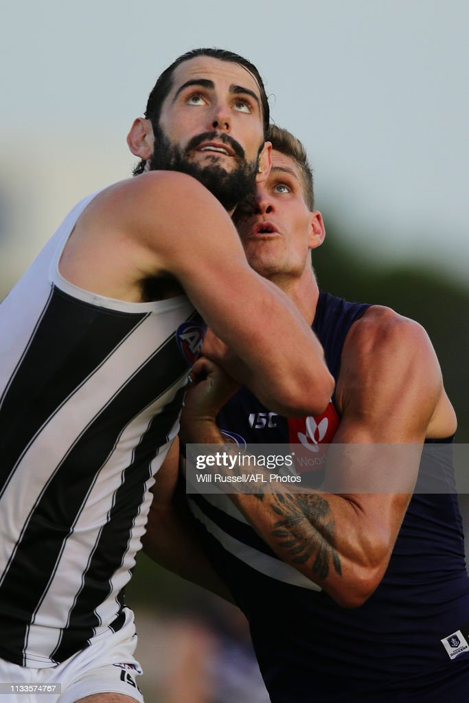 Fremantle v Collingwood - 2019 JLT Community Series : Nieuwsfoto's