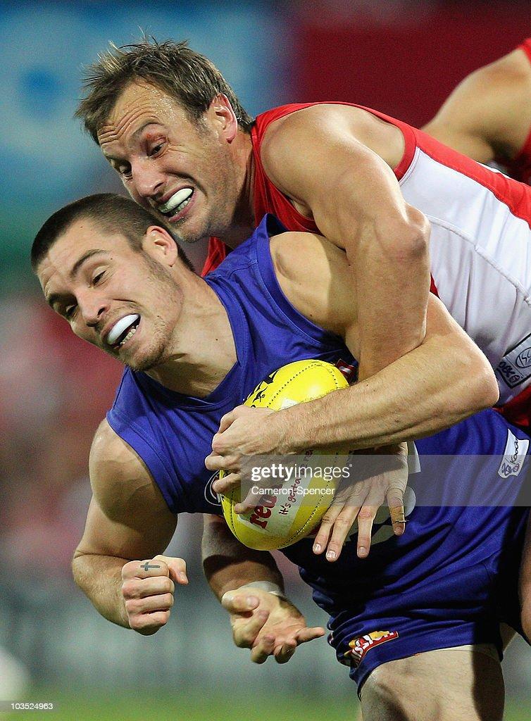 AFL Rd 21 - Swans v Bulldogs