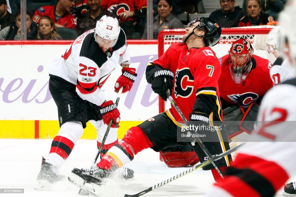 New Jersey Devils v Calgary Flames