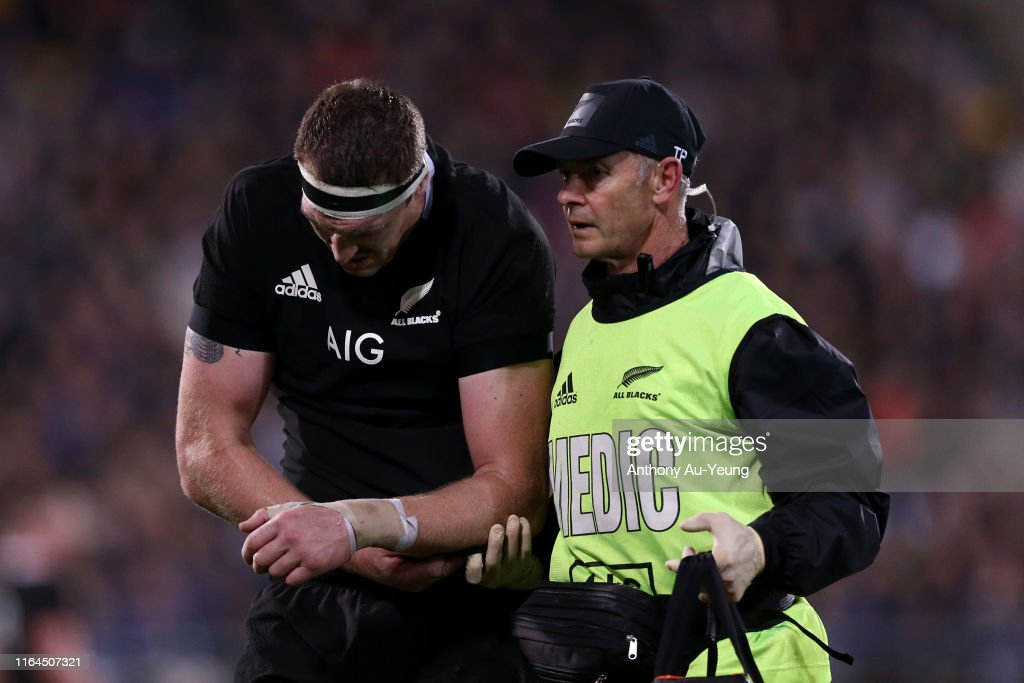 2019 Rugby Championship - New Zealand All Blacks v South Africa Springboks : News Photo