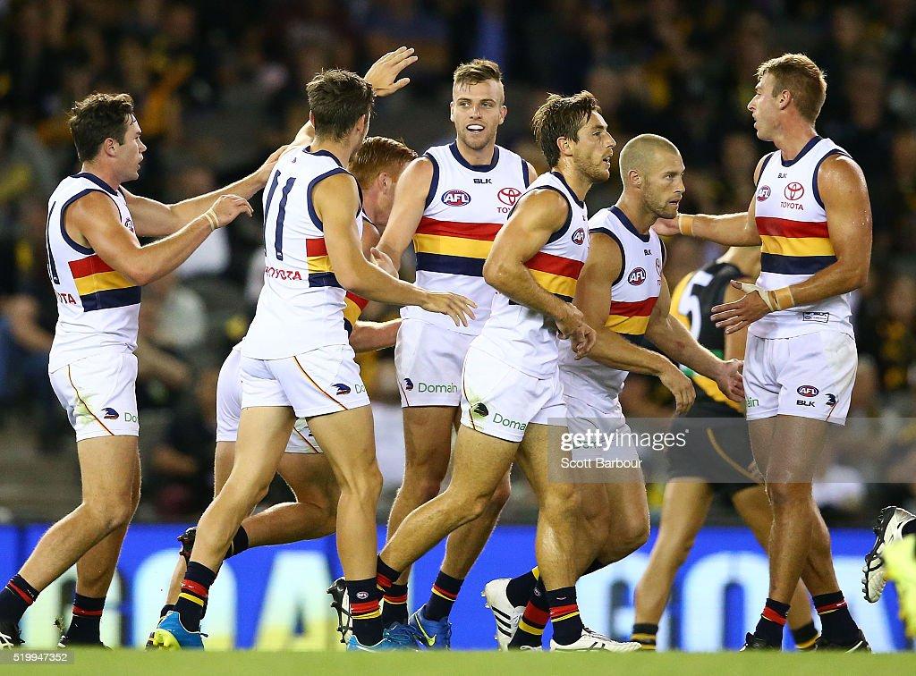 AFL Rd 3 - Richmond v Adelaide : News Photo