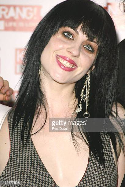 Brody Dalle from The Distillers during Kerrang Awards 2004 Arrivals at The Brewery in London United Kingdom