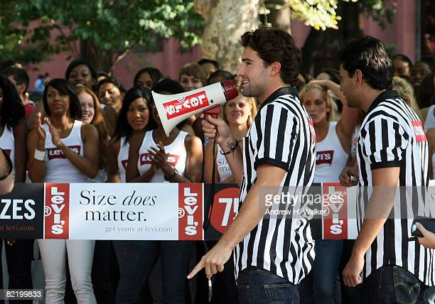 Brody Jenner and Frankie Delgado host Levi's Size Does Matter game on August 6 2008 in New York City
