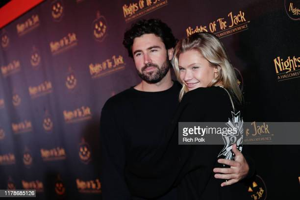 Brody Jenner and Josie Canseco attends Nights of the Jack Friends Family Night 2019 on October 02 2019 in Calabasas California