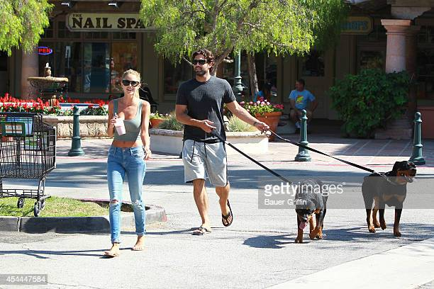 Brody Jenner and Kaitlynn Carter are seen on August 31 2014 in Los Angeles California