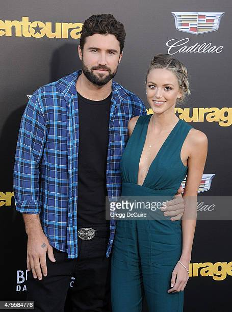 Brody Jenner and Kaitlynn Carter arrive at the Los Angeles premiere of 'Entourage' at Regency Village Theatre on June 1 2015 in Westwood California