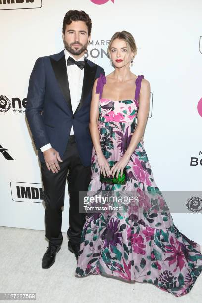 Brody Jenner and Kaitlynn Carter attend IMDb LIVE At The Elton John AIDS Foundation Academy Awards® Viewing Party on February 24 2019 in Los Angeles...