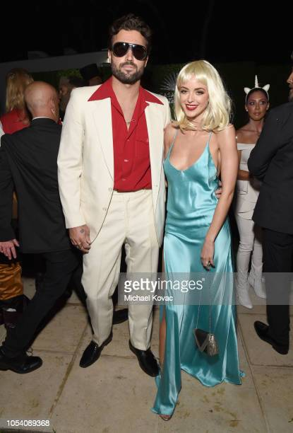 Brody Jenner and Kaitlynn Carter attend the Casamigos Halloween Party on October 26 2018 in Beverly Hills California