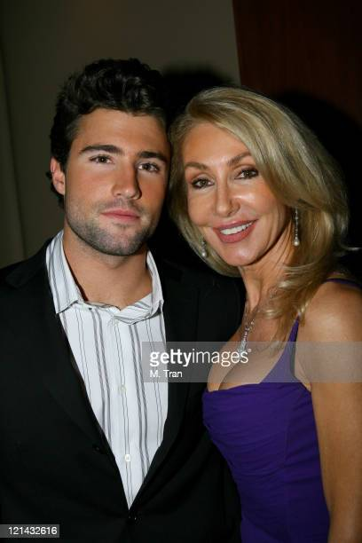 Brody Jenner and Linda Thompson during Us Weekly Presents Us' Hot Hollywood 2007 Inside at Sugar in Hollywood California United States