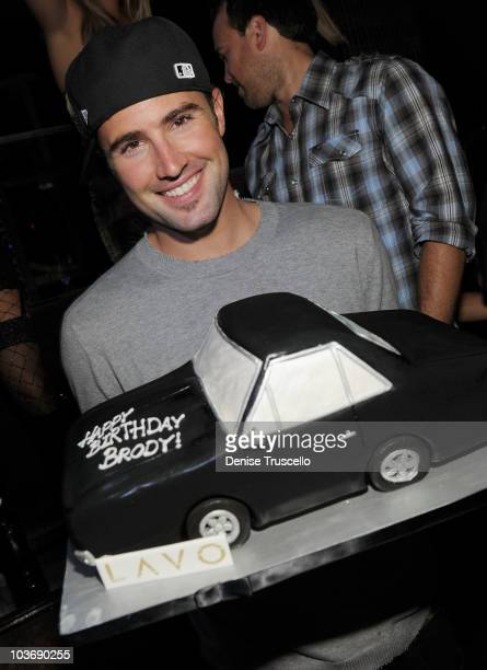 Brody Jenner and Travis Clark celebrate Brodys birthday at Lavo Las Vegas at The Palazzo on August 27 2010 in Las Vegas Nevada