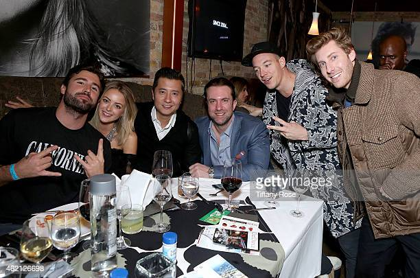 Brody Jenner, Kaitylnn Carter and Diplo attend ChefDance 2015 Presented By Victory Ranch And Sponsored By Merrill Lynch, Freixenet And Anchor...