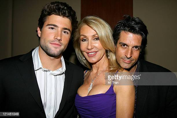 Brody Jenner Linda Thompson and guest *EXCLUSIVE*