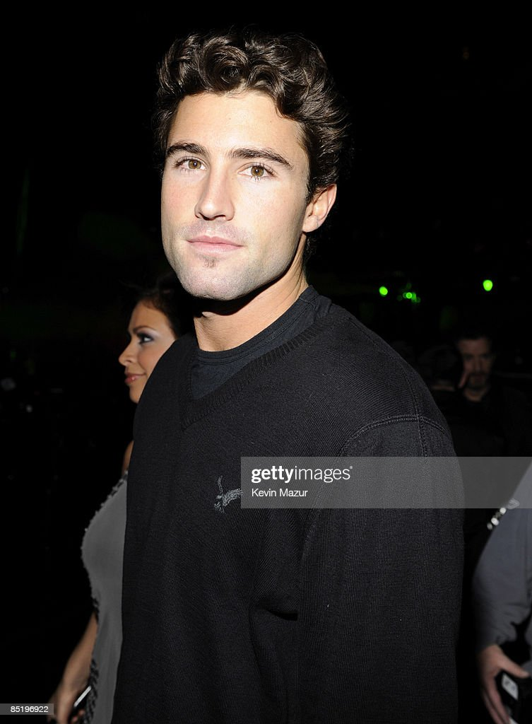 Brody Jenner poses backstage during Z100's Jingle Ball 2008 Presented by H&M at Madison Square Garden on December 12, 2008 in New York City. *EXCLUSIVE*
