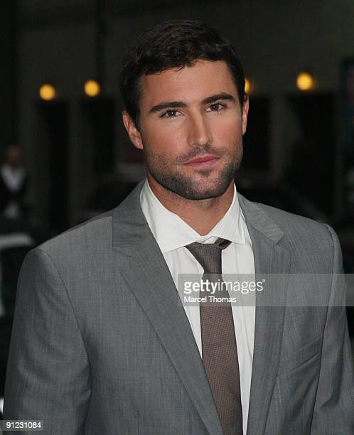 Brody Jenner visits 'Late Show with David Letterman' at the Ed Sullivan Theater on September 28 2009 in New York City