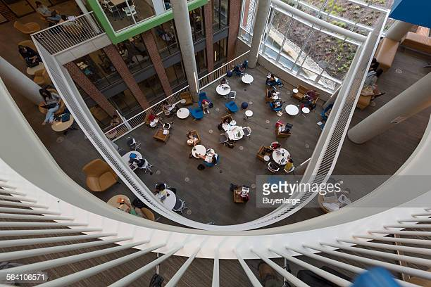 Brody Learning Commons on the Homewood Campus is part of the Johns Hopkins Sheridan Libraries Baltimore Maryland