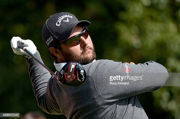 Brody Ninyette of Australia on the 14th tee during the second round of the WGC HSBC Champions at the Sheshan International Golf Club on November 7...