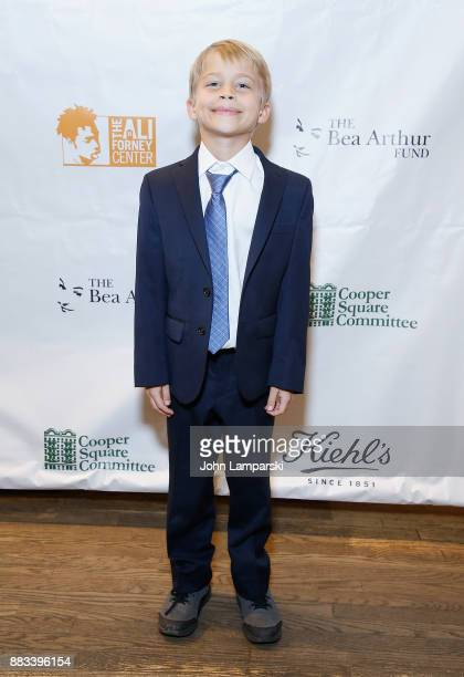Brody Saks attends The Bea Arthur Residence Building dedication on November 30, 2017 in New York City.