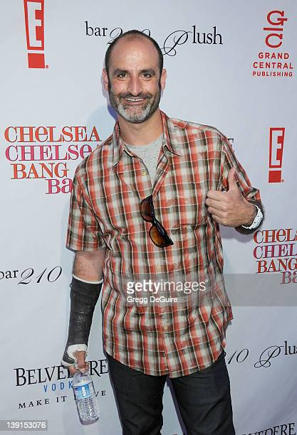 Brody Stevens arrives at the Los Angeles Book Launch Party for Chelsea Chelsea Bang Bang at Bar 210/Plush on March 17 2010 in Beverly Hills California