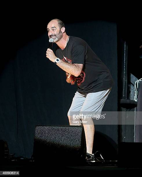 Brody Stevens performs during the Funny Or Die Oddball Comedy Festival at the Austin360 Amphitheater on September 21 2014 in Austin Texas