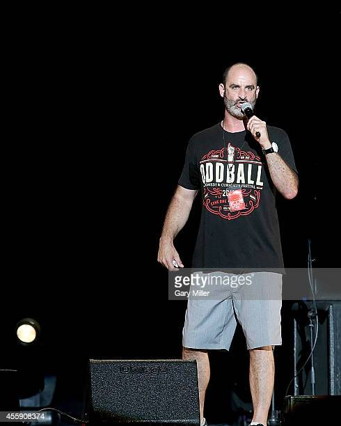 Brody Stevens performs during the Funny Or Die Oddball Comedy Festival at the Austin360 Amphitheater on September 21, 2014 in Austin, Texas.