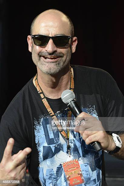 Brody Stevens performs during the Oddball Comedy And Curiosity Festival at Shoreline Amphitheatre on September 12 2014 in Mountain View California