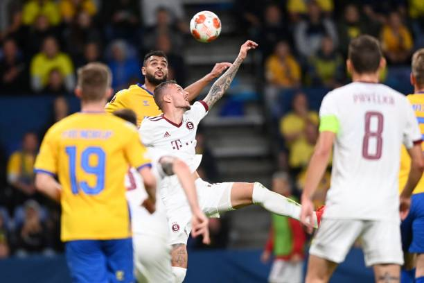 DNK: Brondby IF v Sparta Praha: Group A - UEFA Europa League
