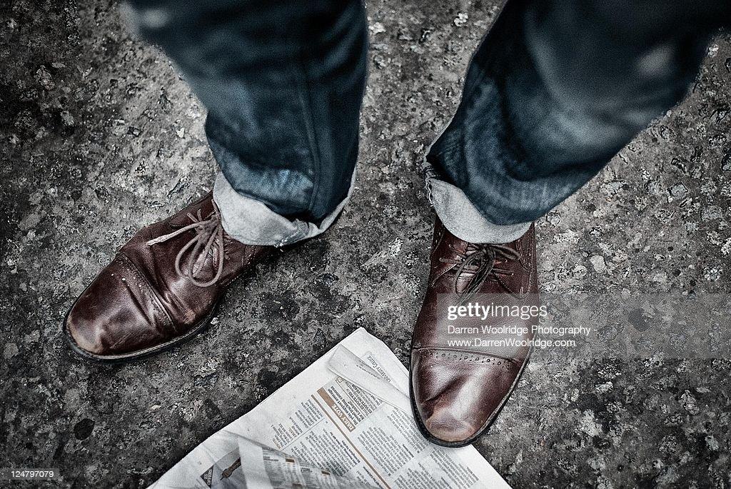 Brogues : Stock Photo