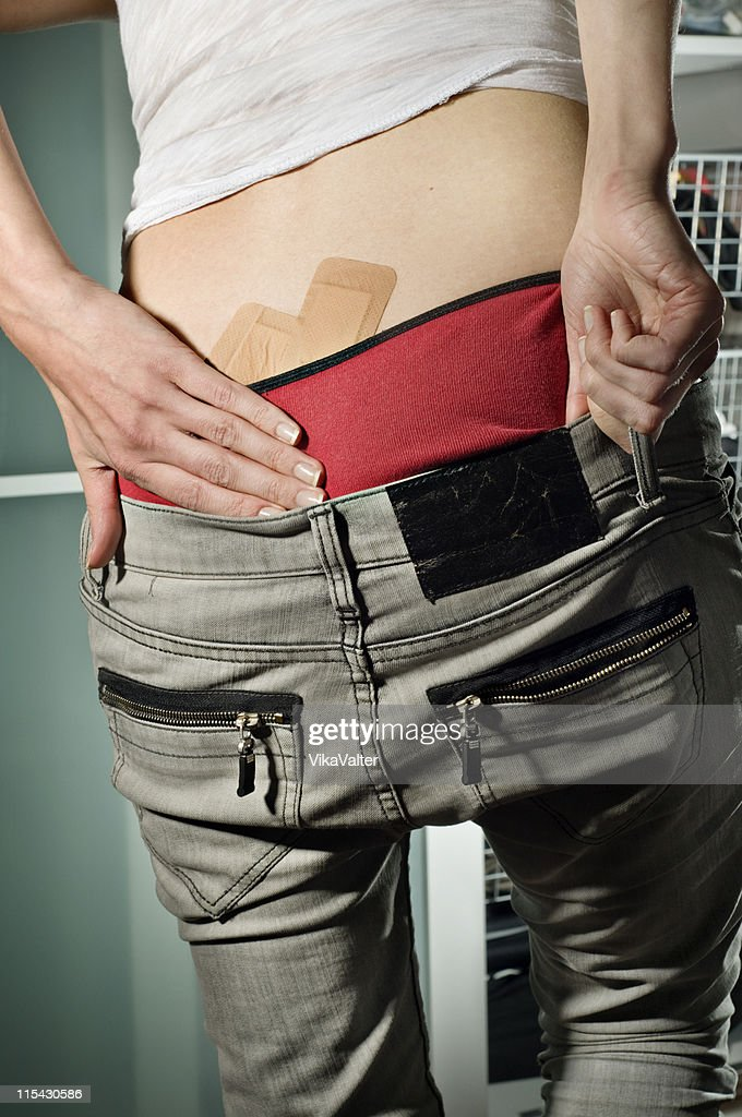 broken ass : Stock Photo