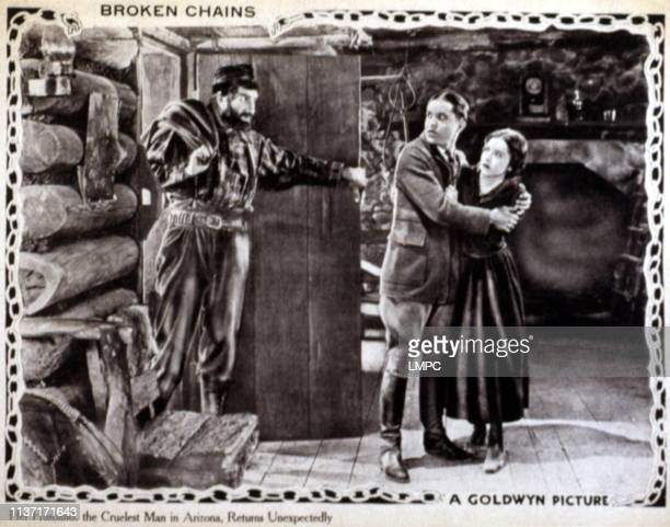 Broken Chains lobbycard Ernest Torrence Colleen Moore Malcolm McGregor 1922