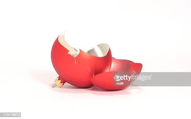 broken christams ball #1