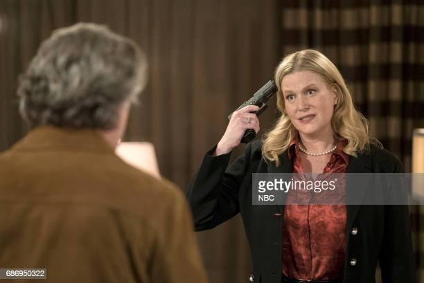BLUE Broken Dolls Episode 213 Pictured Ray Liotta as Lt Matt Wozniak Anna Gunn as Julia Ayres