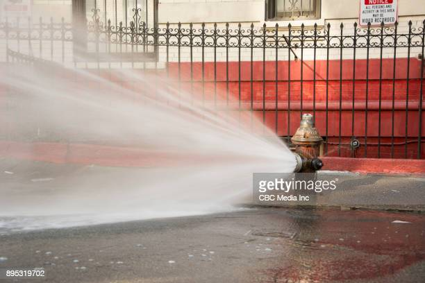 broken fire-hydrant - fire hydrant stock pictures, royalty-free photos & images