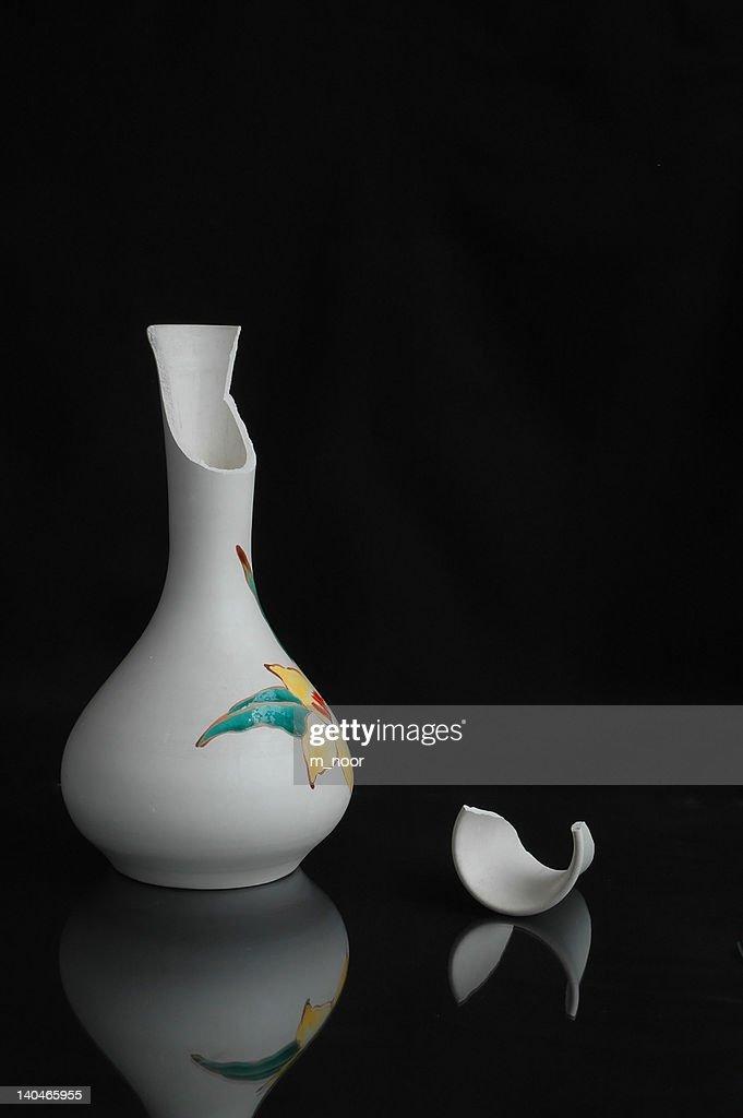 Broken Flower Vase Stock Photo Getty Images