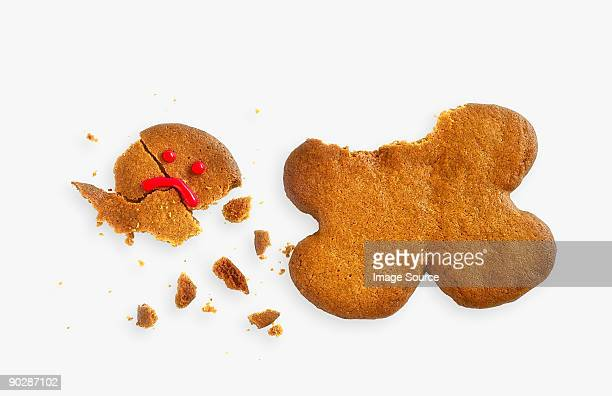 Broken gingerbread man