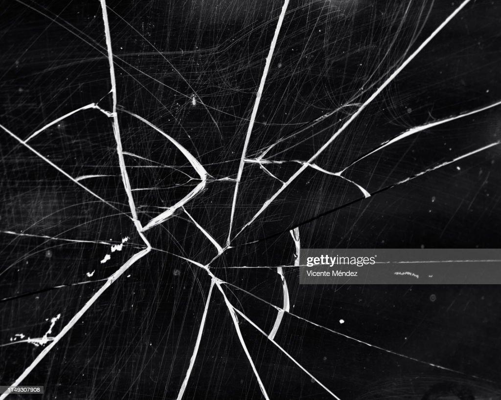 Broken glass : Stock Photo