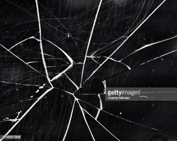 broken glass - shattered glass stock pictures, royalty-free photos & images