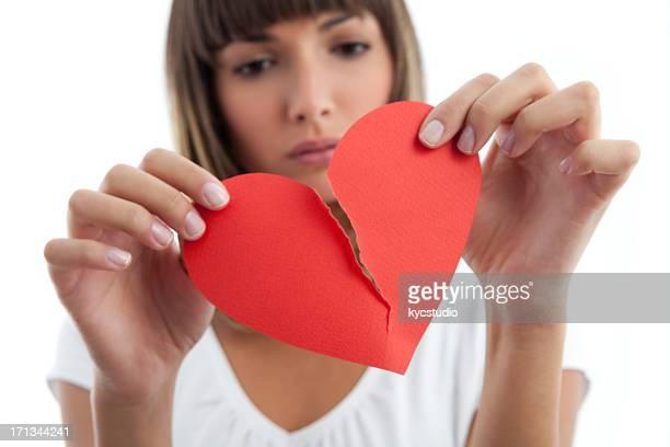 Gebrochenes Herz Mädchen