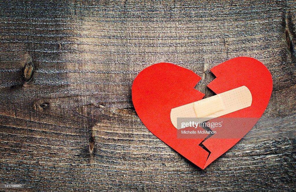 Broken heart : Stock Photo