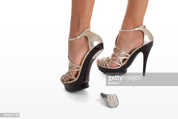 Broken heels