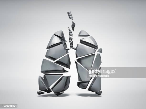 broken metal lung - color tipo de imagen fotografías e imágenes de stock
