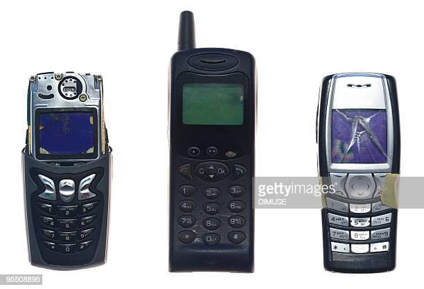 broken mobile phones