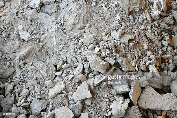 broken mortar - rubble stock pictures, royalty-free photos & images