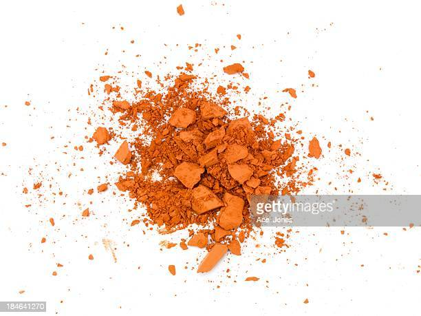 Broken orange make-up