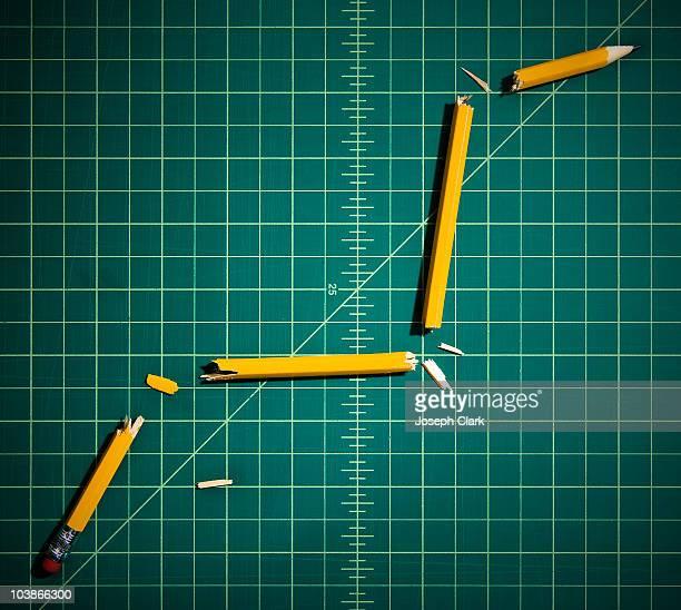 Broken Pencils Making a Graph