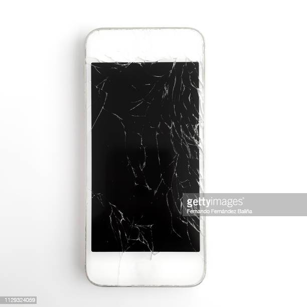 broken phone - broken stock pictures, royalty-free photos & images