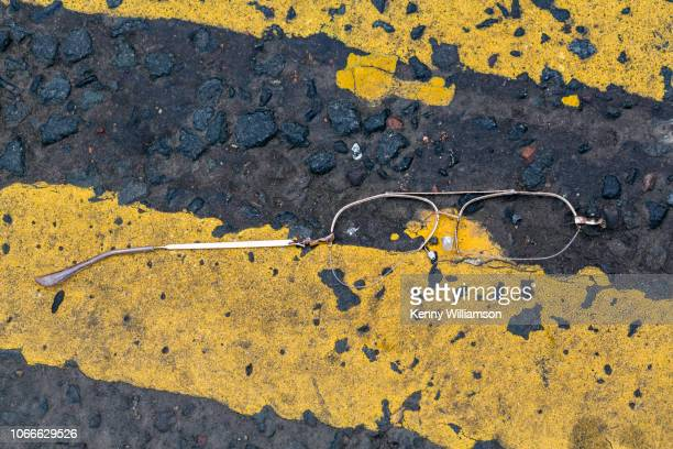 broken - roadkill stock photos and pictures