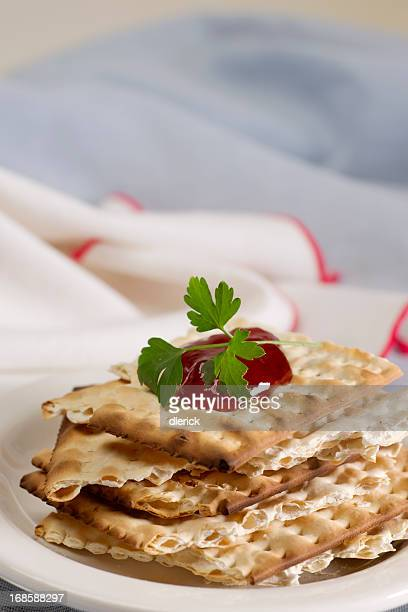 Broken Pieces of Egg Matzos