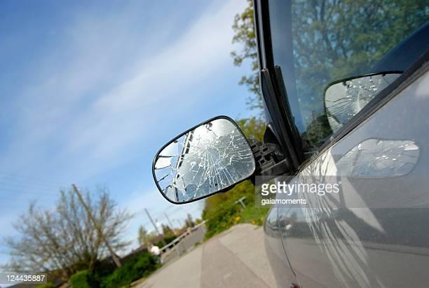 Seitenansicht Spiegel defekt